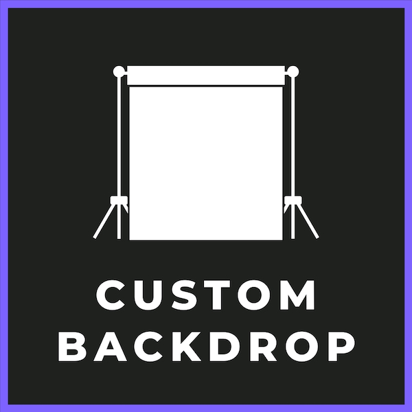 custom backdrops