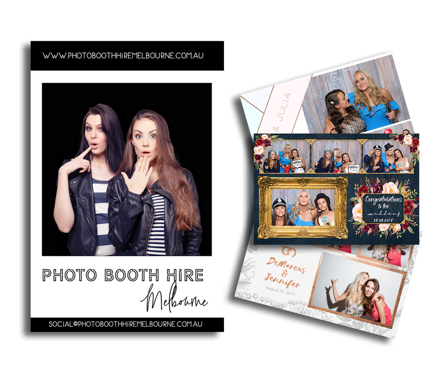 postcard photo printing with hire of photobooth