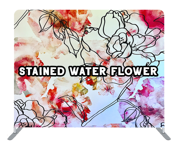 stained water flower